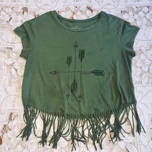 American Eagle Outfitters Short Sleeve Top Size L